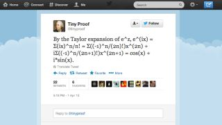Mathematically beyond-us Twitter account will make you feel stupid on a