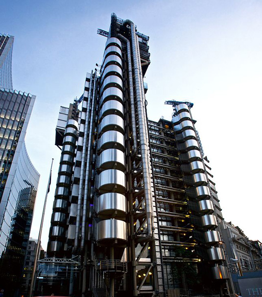 Famous buildings: Lloyds Building in London