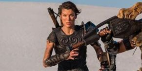 New Monster Hunter Poster Proves Milla Jovovich's Movie Actually Stars That Massive Sword