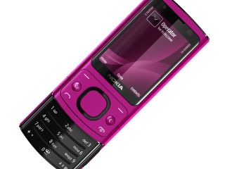 Nokia's pink 6700 Slide - picture says it all