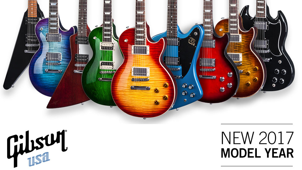NAMM 2017: Gibson reveals 2017 Traditional, High Performance