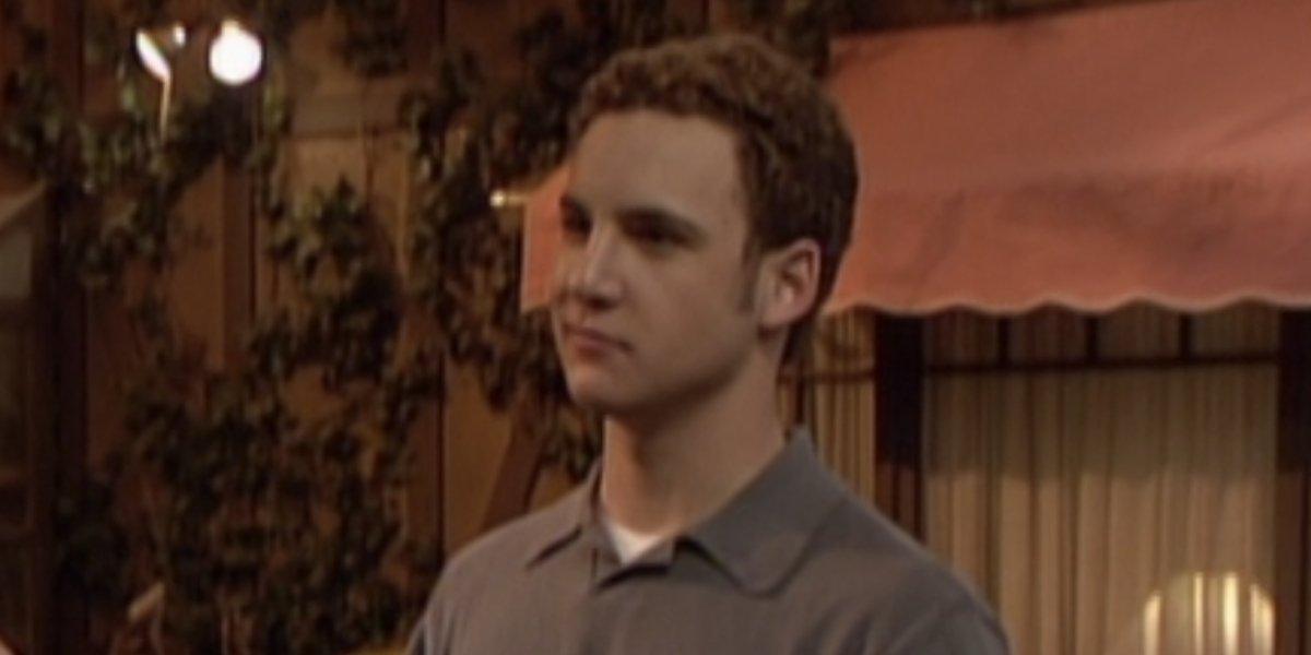 Ben Savage as Cory Matthews on Boy Meets World
