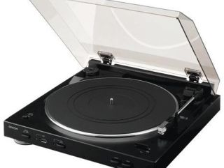 Denon's latest USB turntable automatically identifies your music