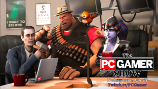 The PC Gamer Show with logo 1 NEW