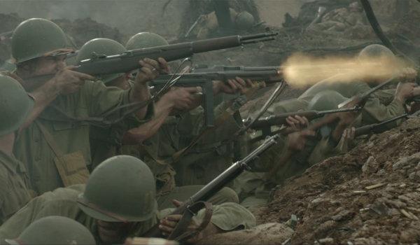Hacksaw Ridge Battle Scene Mel Gibson