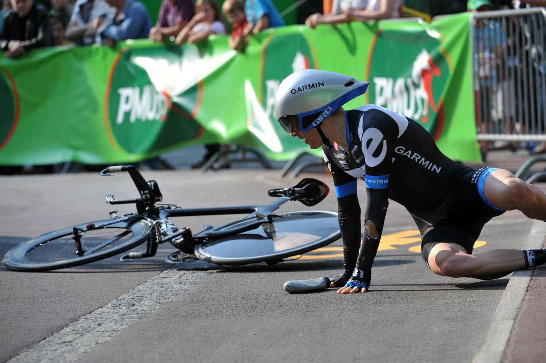 Andrew Talansky, Tour de Romandie 2011, prologue