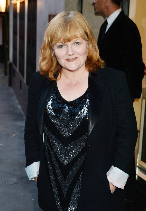 Lesley Nicol at the wrap party for ITV's Downton Abbey