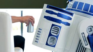 This R2-D2 fridge can keep your drinks cold and bring them to you