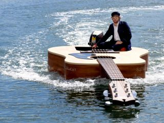 Strum strum strum your boat