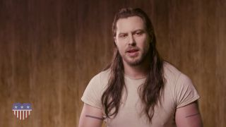 Would you vote for this man? Andrew WK is seeking a career in politics.