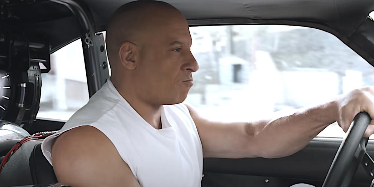 Vin Diesel in the Fast Saga