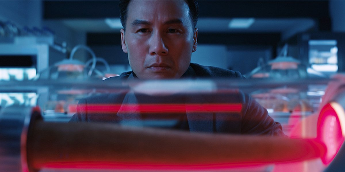 Dr. Henry Wu up to no good in Jurassic World: Fallen Kingdom