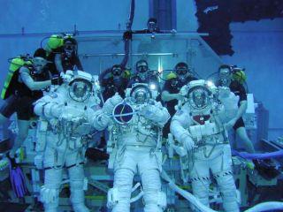 EVA Debut: The Spacewalking Team of STS-114