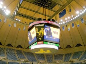 West Virginia University Coliseum Goes Big With JBL