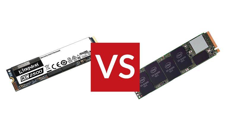 Kingston KC2500 M.2 NVMe vs Intel 665P