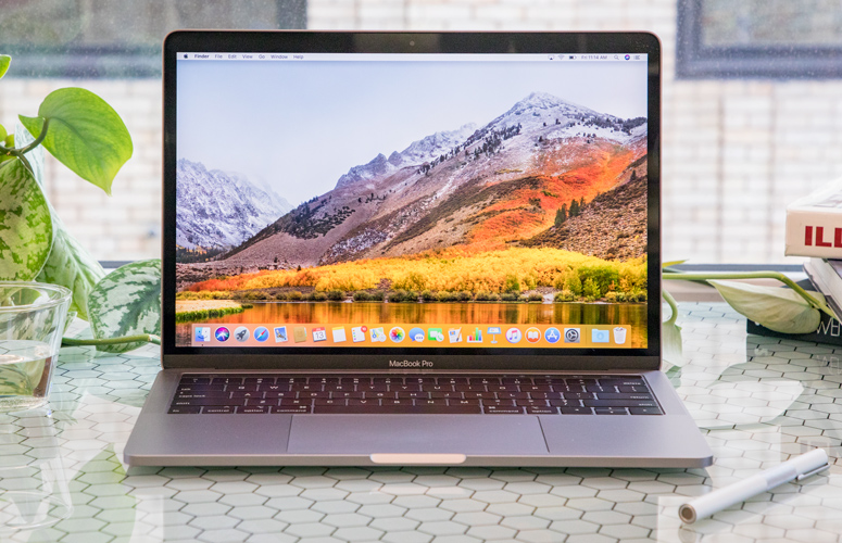 Apple Macbook Pro 13 Inch With Touch Bar 2018 Full Review And Benchmarks Laptop Mag
