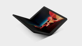 Lenovo foldable laptop PC