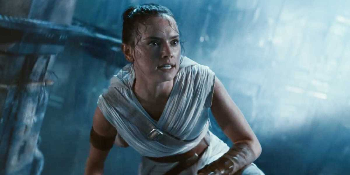 Daisy Ridley is Rey
