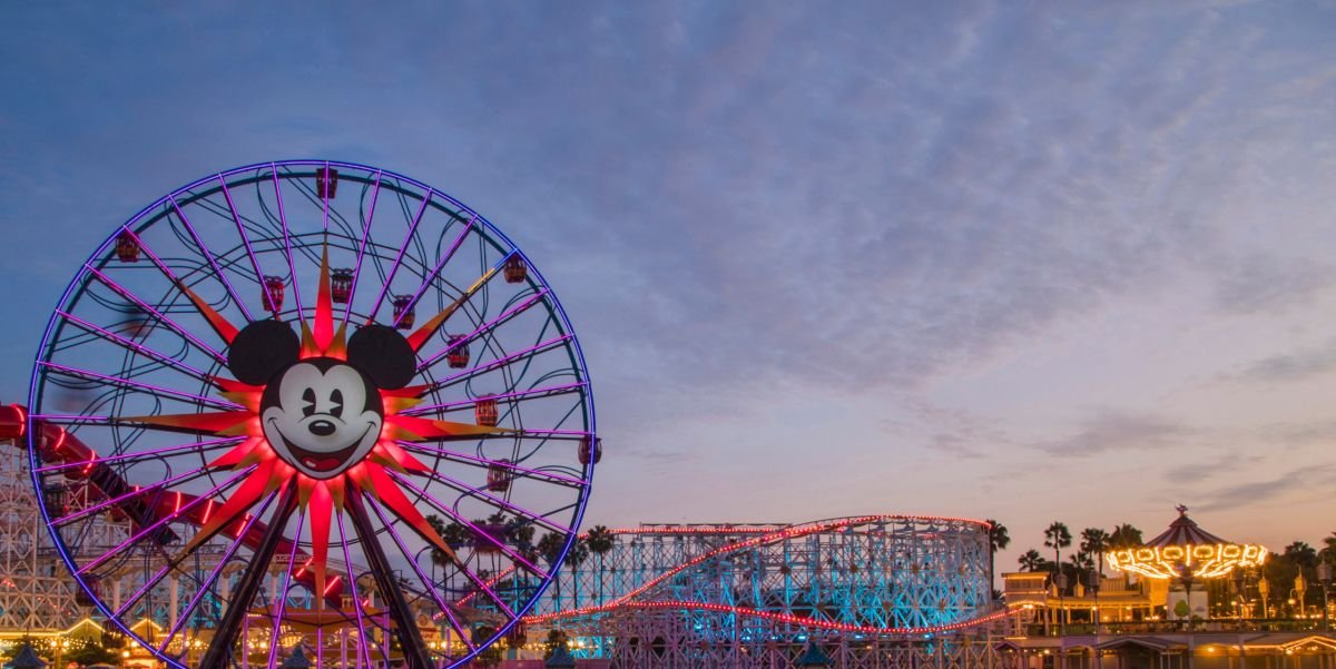 Disney California Adventure Pixar Pier