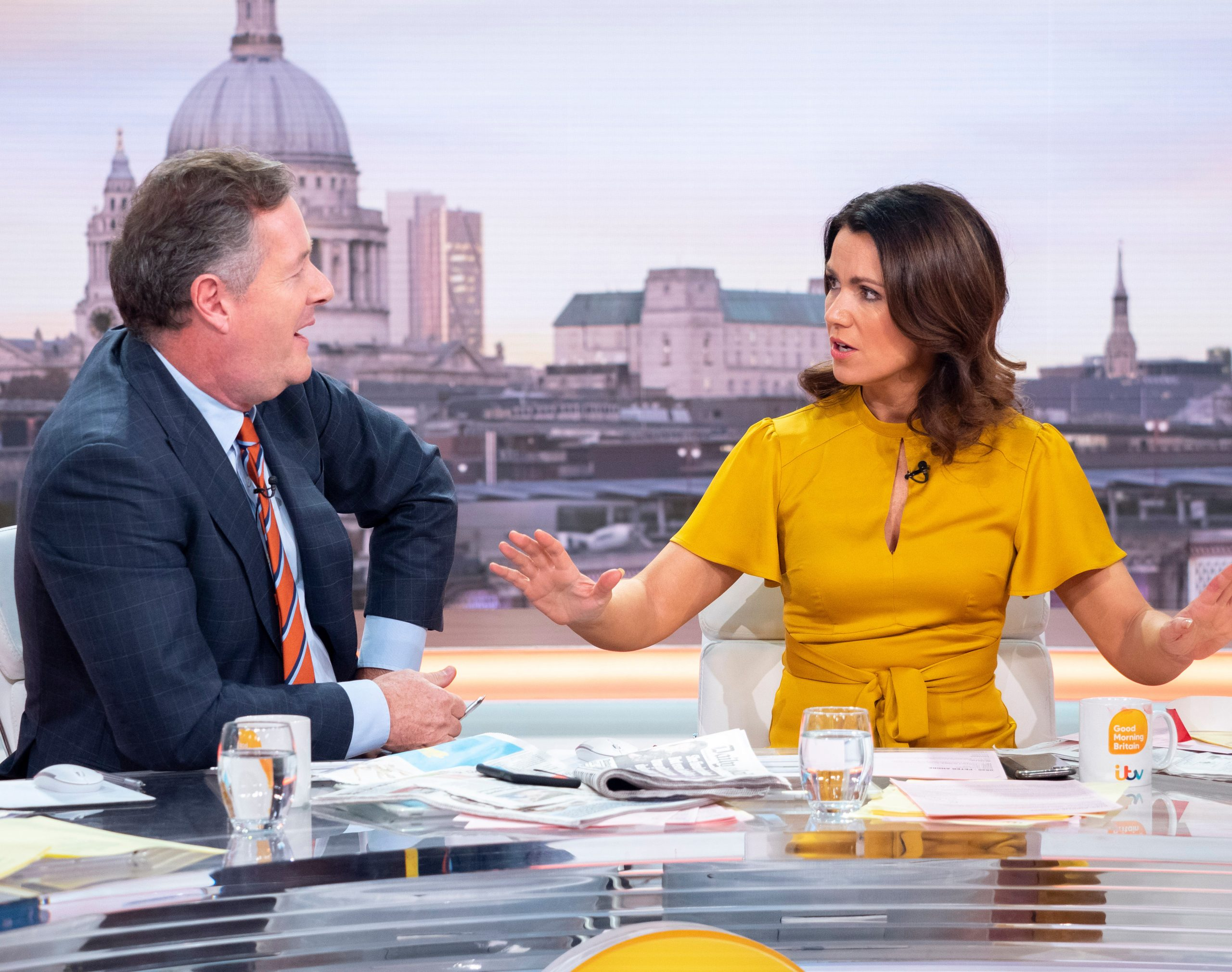 Susanna Reid Piers Morgan