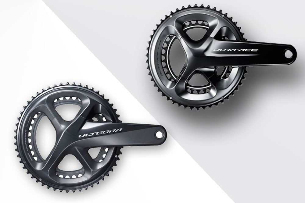 Shimano Ultegra R8000 vs Dura-Ace 9100: What are the main differences?