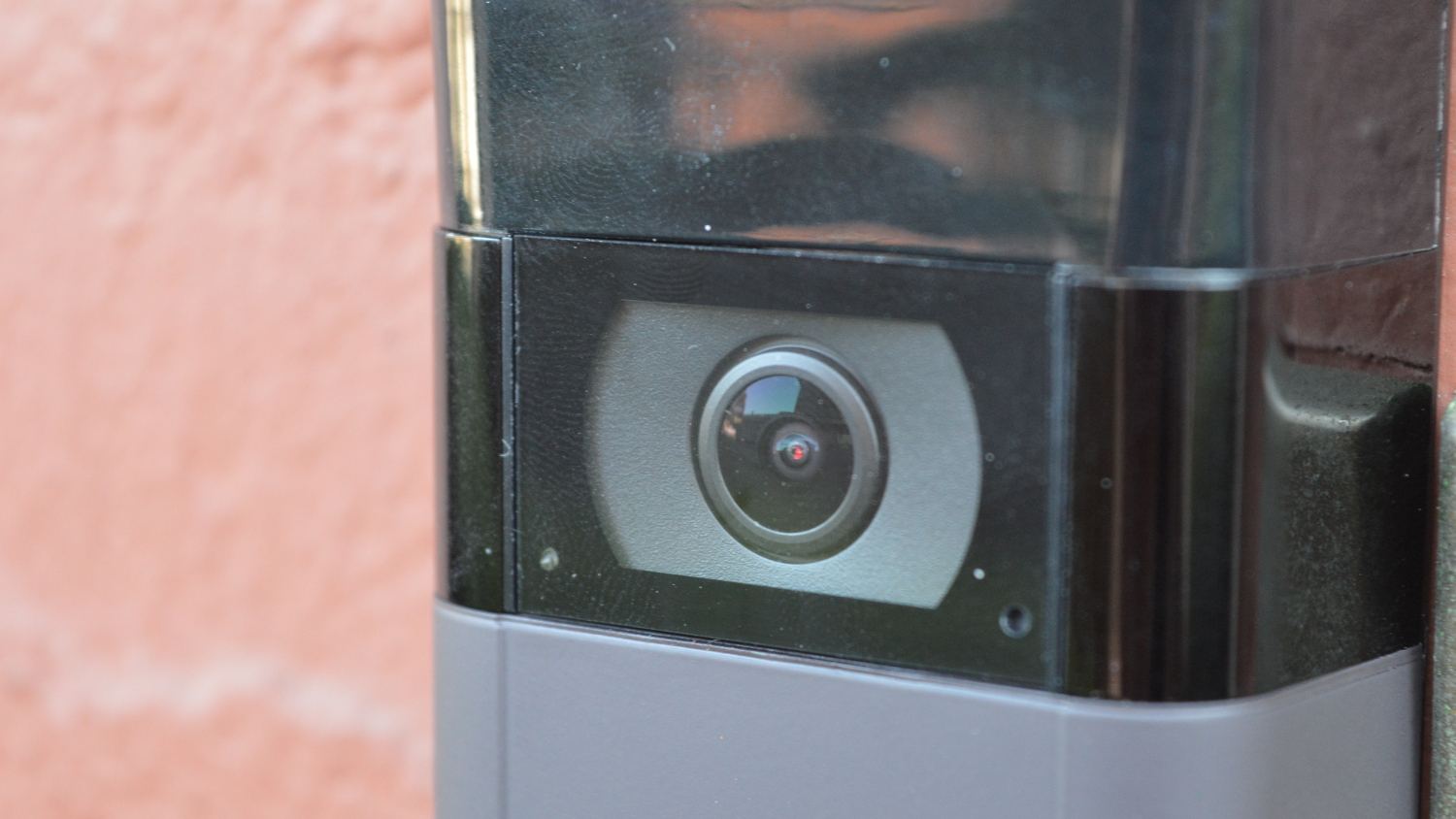 Ring video doorbell 2 lens close up