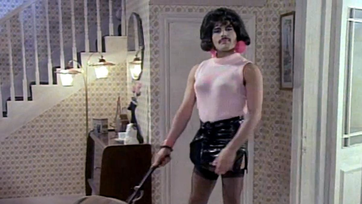 video clip queen i want to break free