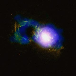 NASA's Chandra Space Telescope Captures the Tempest in a Cosmic 'Teacup'