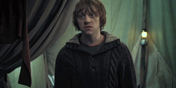 ron weasley in harry potter and the deathly hollows