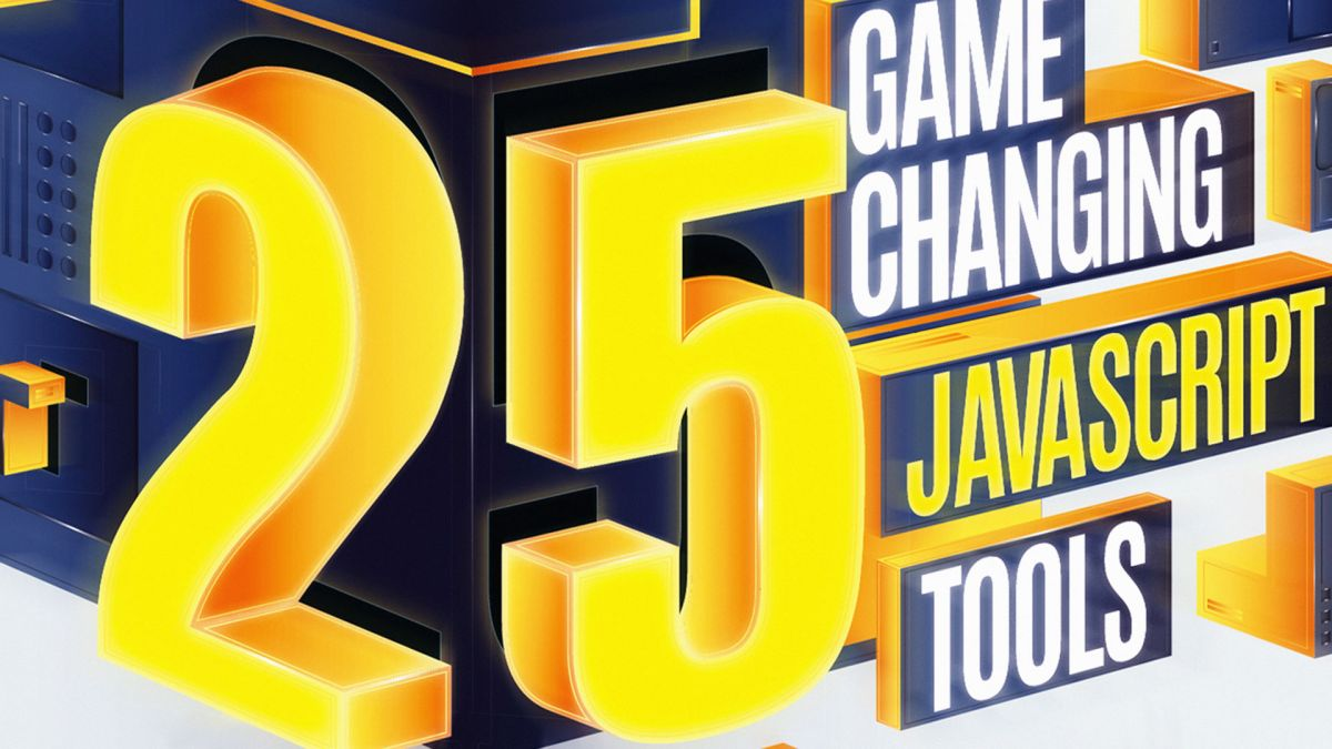 25 game-changing JavaScript tools
