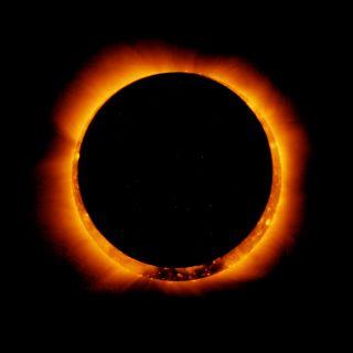 Partial Solar Eclipse Jan 2011
