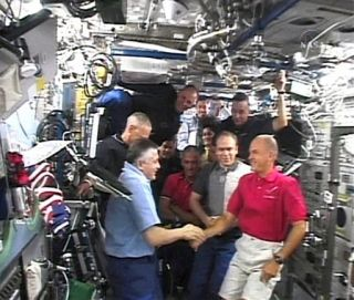 Atlantis Astronauts Prepare to Leave Space Station