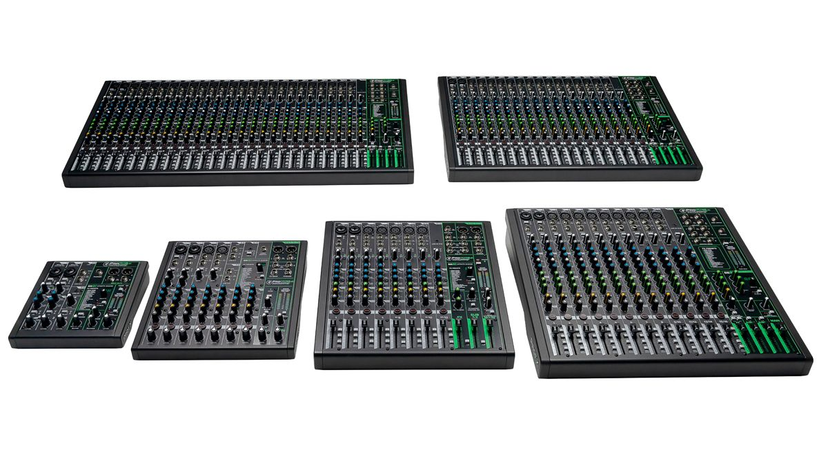 mackie s profxv3 analogue mixers feature onyx preamps and better usb audio interfaces musicradar. Black Bedroom Furniture Sets. Home Design Ideas