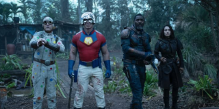 Four members of The Suicide Squad