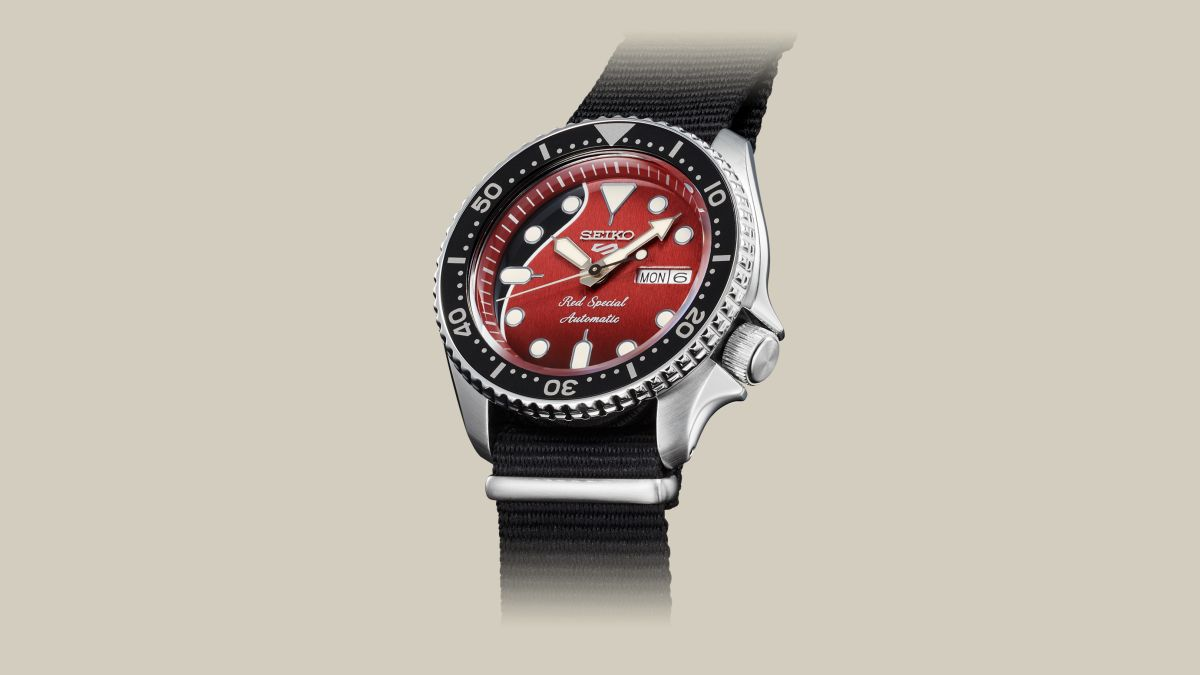 New Seiko 5 Sports 'Red Special' watch is a must-buy for Queen fans