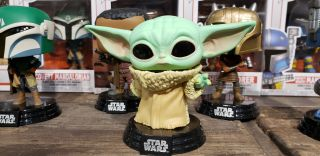 star wars baby yoda funko pop toy fair