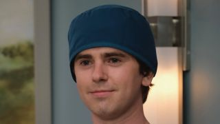Freddie Highmore in The Good Doctor.