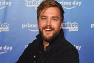 Buffering star and creator Iain Stirling.