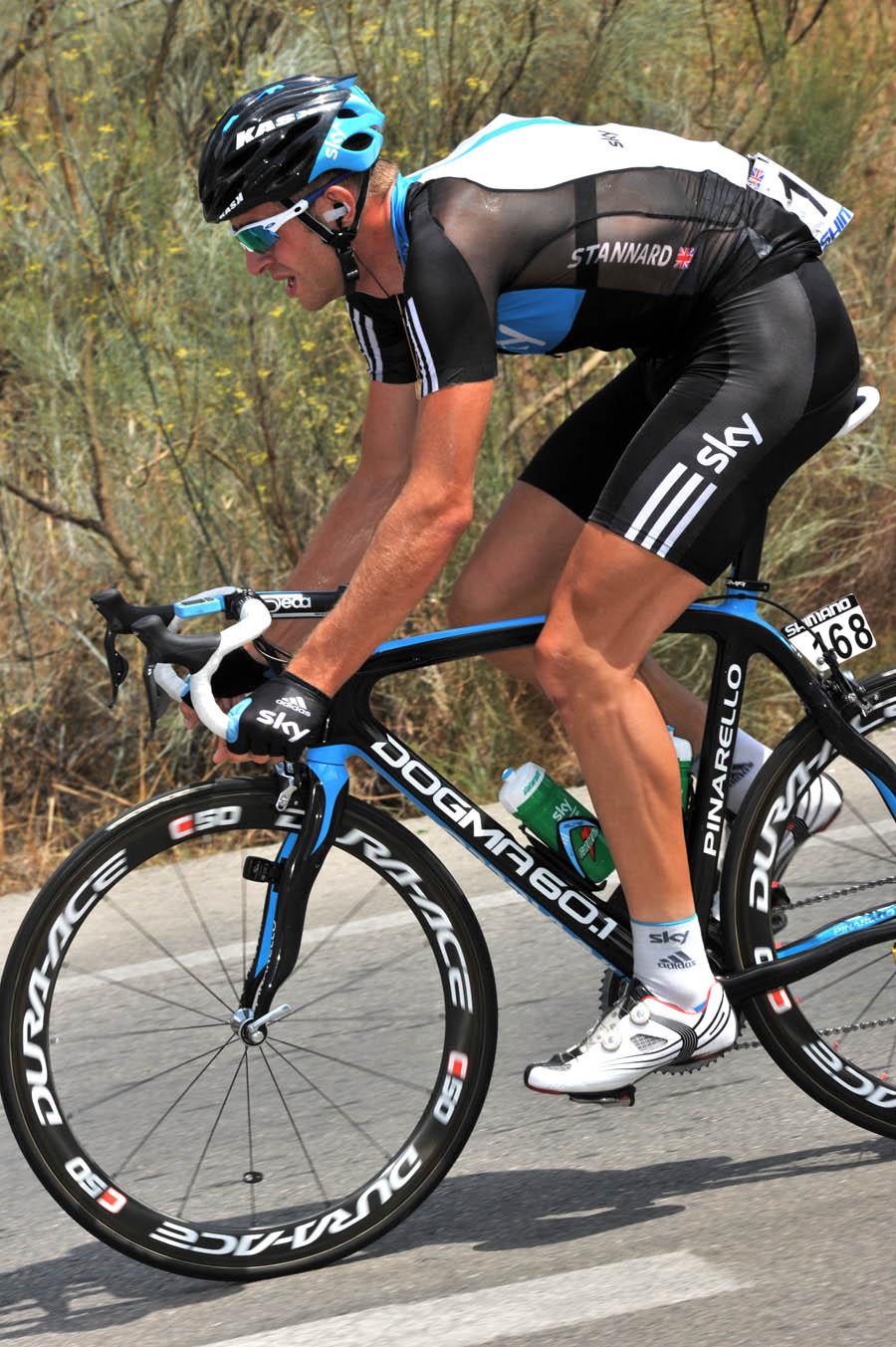 Ian Stannard, Vuelta a Espana 2010, stage four
