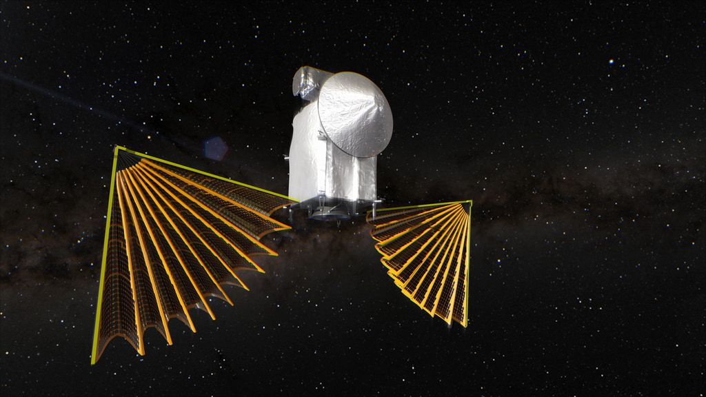 NASA's Lucy asteroid probe settles into Earth-orbiting cruise as engineers tackle solar array glitch