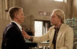 Daniel Craig and Javier Bardem in Skyfall