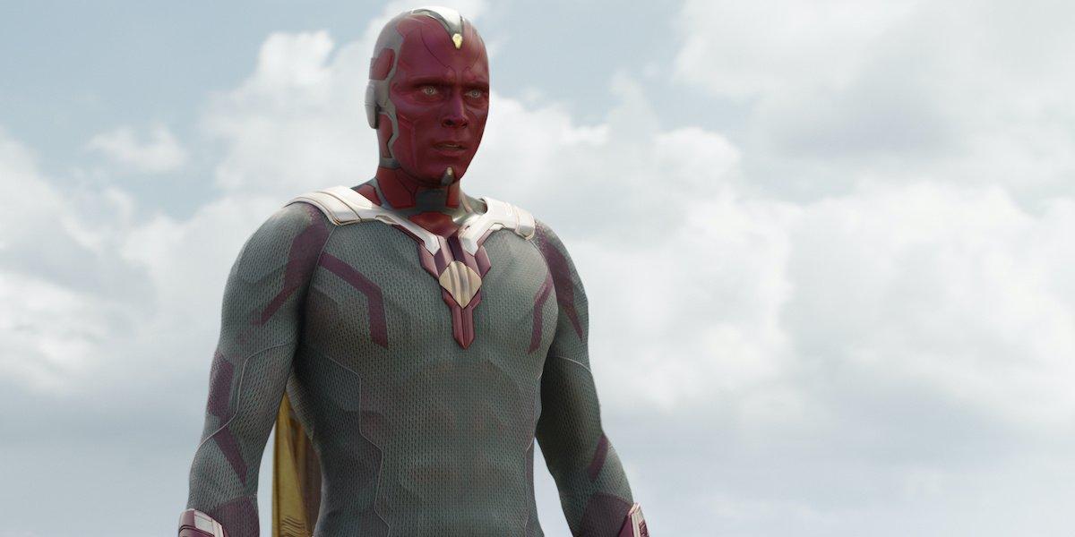 Похоже, дядя Пола Беттани, Фрэнк, партнер по фильму, даже не знал, что он был видением Marvel