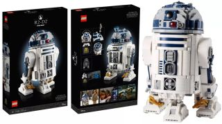 Lego has an epic new R2-D2 droid, its biggest and best yet, available since May 4, 2021.