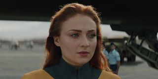 Sophie Turner as Jean Grey from the X-Men movies