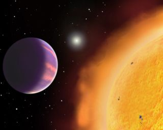 This planet is lighter than a ball of cork and is one of the puffiest alien planets.