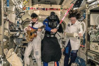 Halloween at the ISS