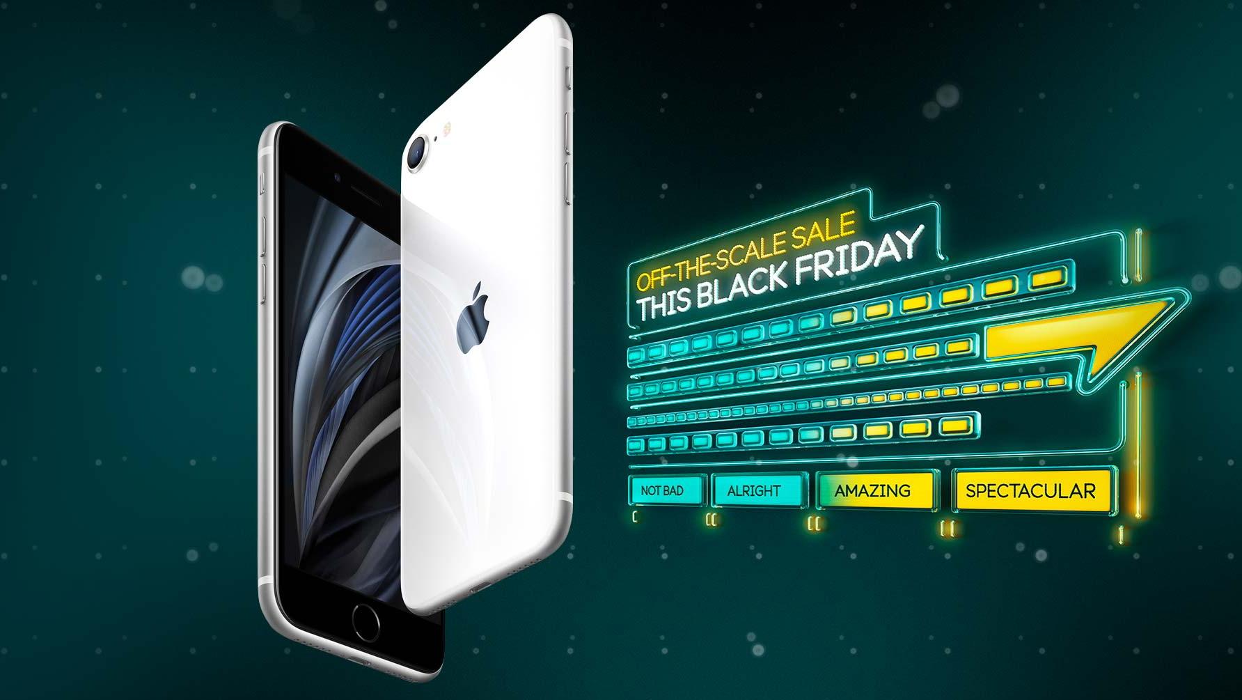 EE Black Friday iPhone SE deals