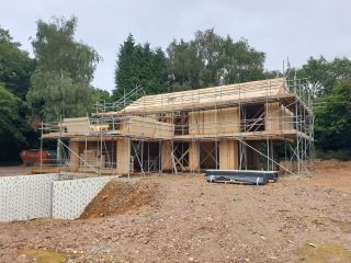 new builds can be financed with a self build mortgage