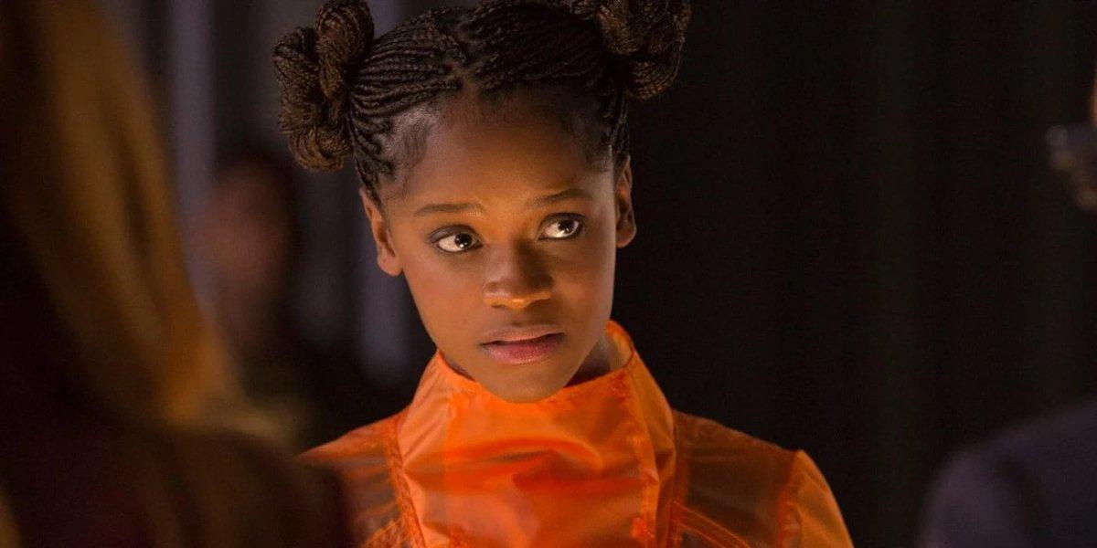 Letitia Wright in Avengers: Infinity War