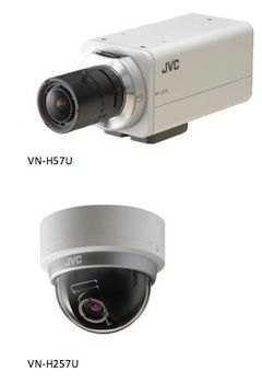 JVC Releases VN-H57 Series Security Cameras